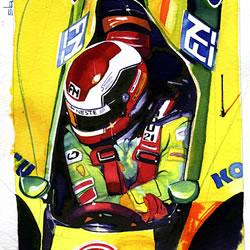 Alessandro Nanini - F1