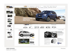 Chevy Equinox Website