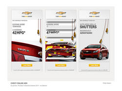 Chevy Online Advertising